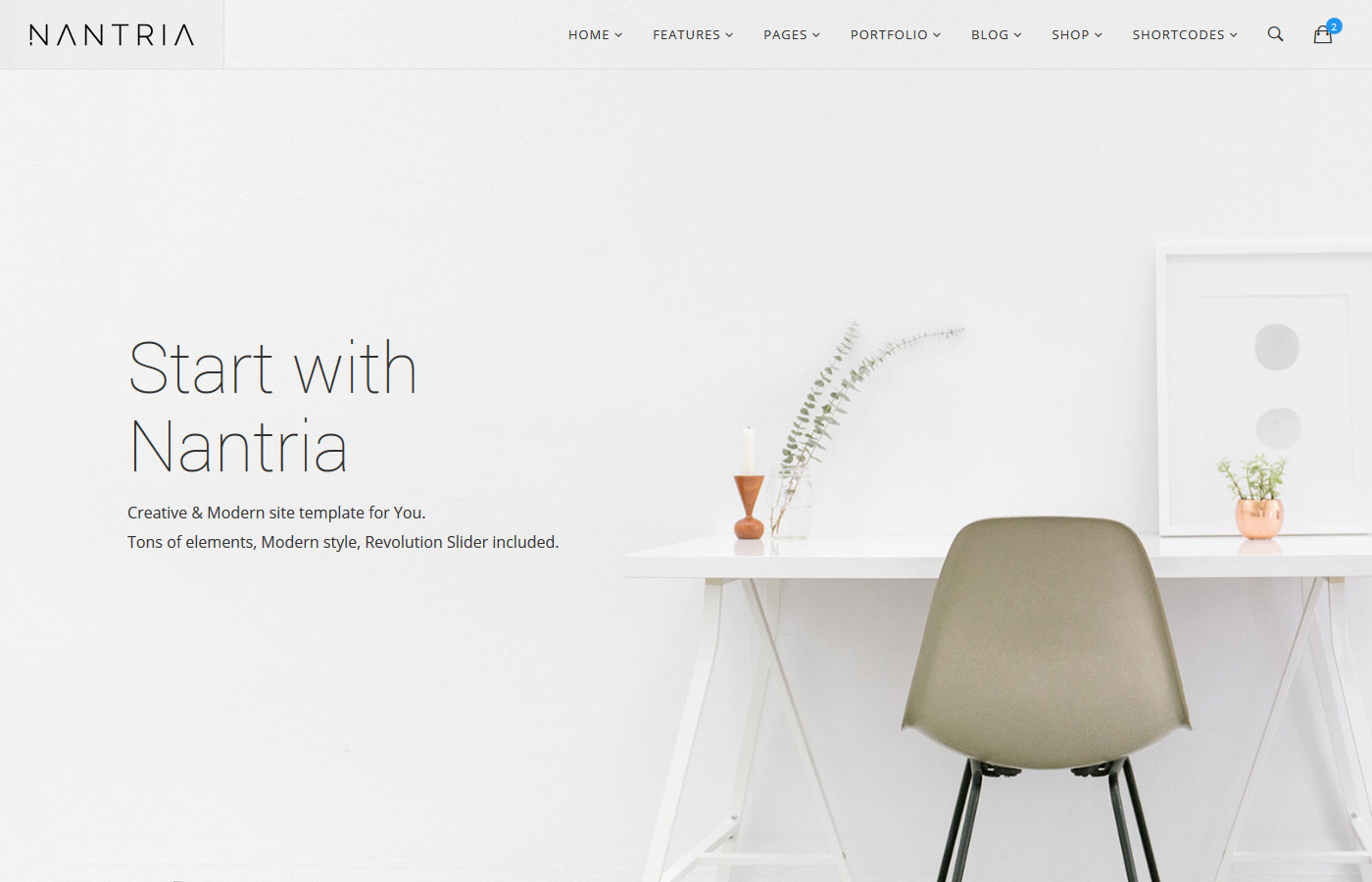 Nantria - Multipurpose Site Template