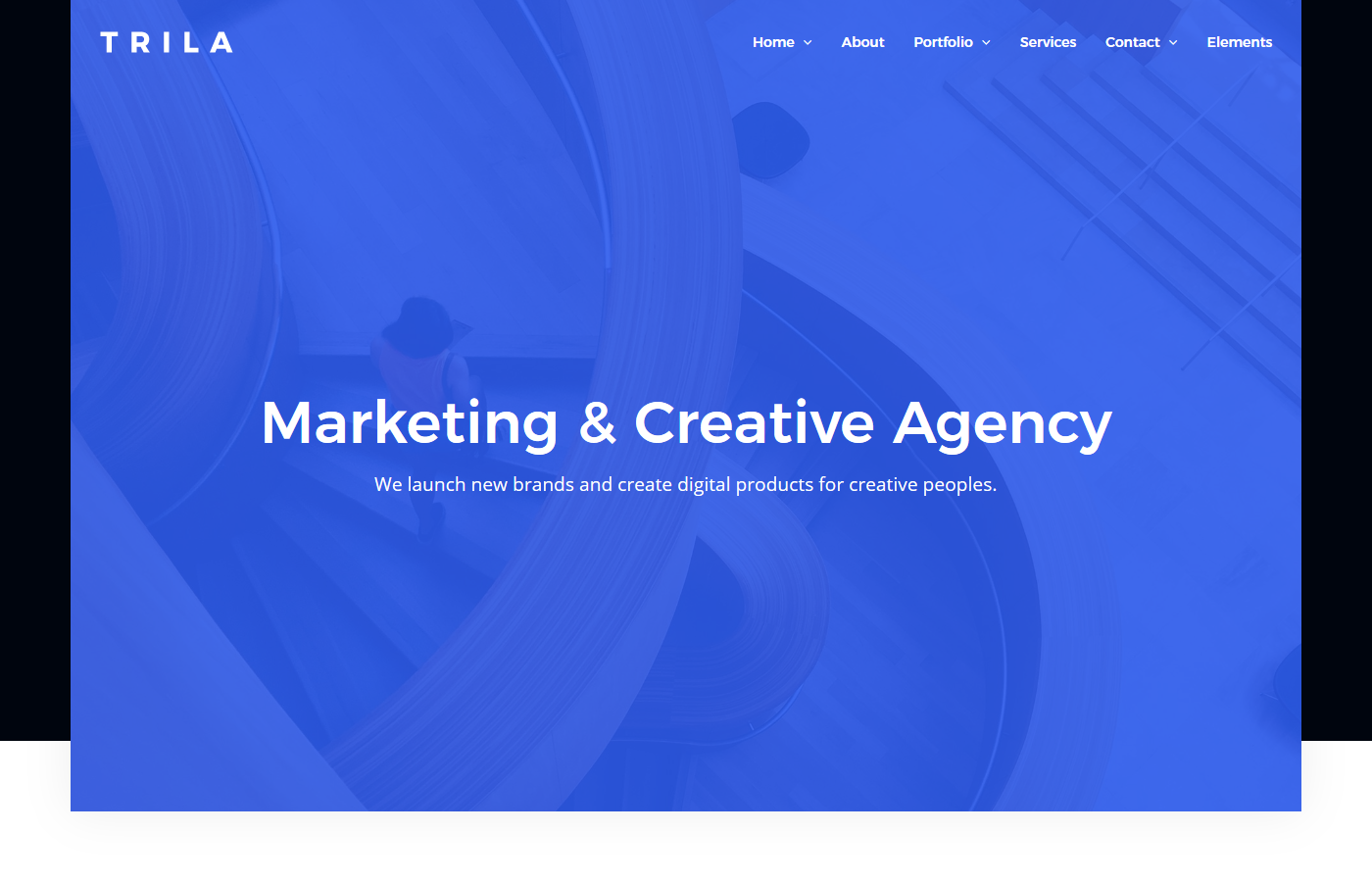 Trila - Ajax Based Creative Template