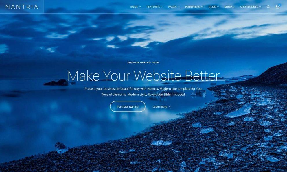 Nantria - Multi-purpose HTML5 Template